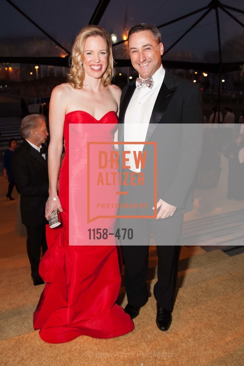 Holly Cuggino, Michael Cuggino, SAN FRANCISCO BALLET Opening Night Gala: PHENOMENAL - Arrivals, US. SF City Hall, January 22nd, 2014,Drew Altizer, Drew Altizer Photography, full-service agency, private events, San Francisco photographer, photographer california