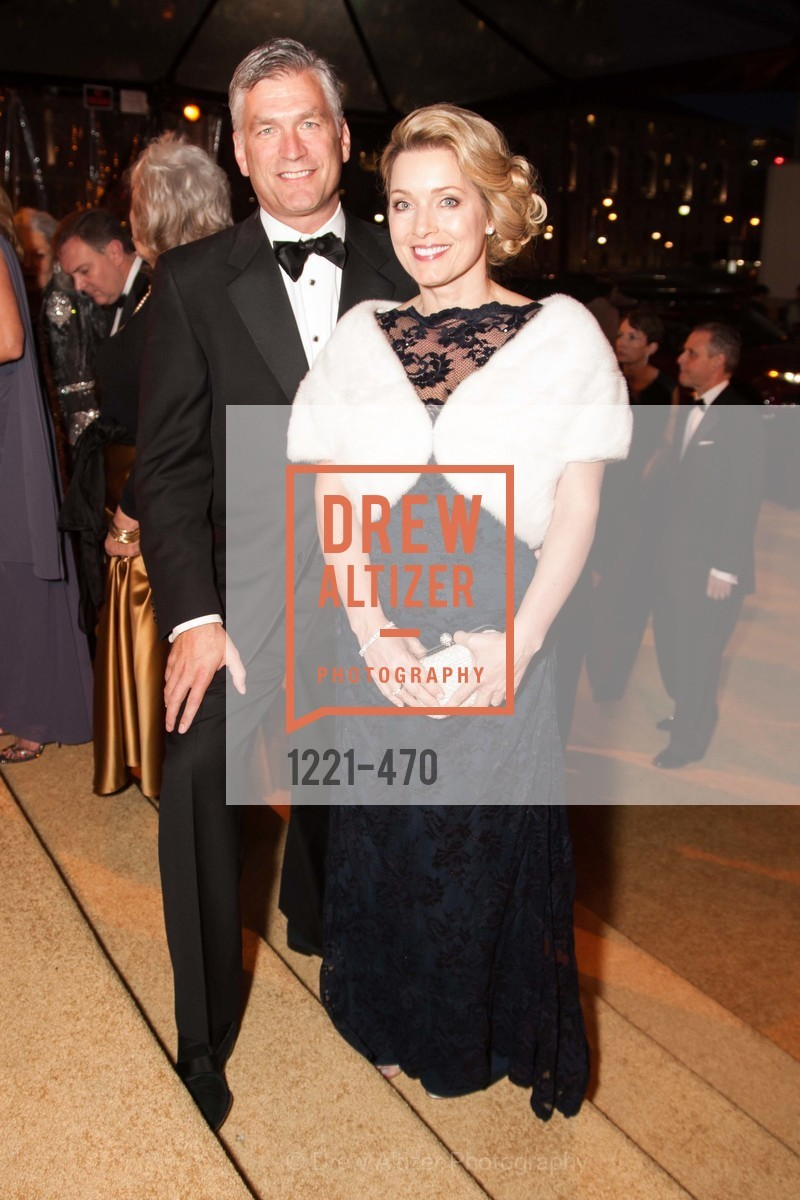 Tobias Powers, Pamela David, SAN FRANCISCO BALLET Opening Night Gala: PHENOMENAL - Arrivals, US. SF City Hall, January 22nd, 2014,Drew Altizer, Drew Altizer Photography, full-service agency, private events, San Francisco photographer, photographer california
