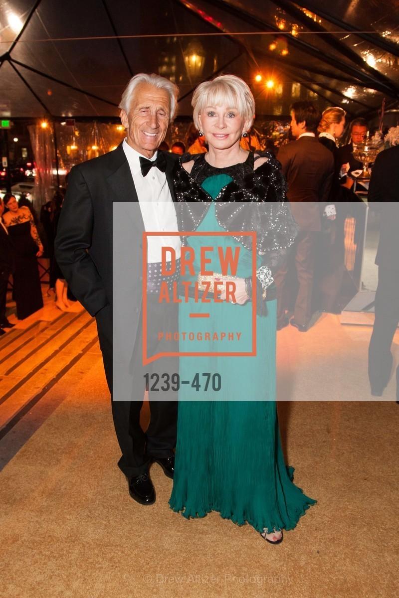 Anthony Parker, Rose Rosenberg, SAN FRANCISCO BALLET Opening Night Gala: PHENOMENAL - Arrivals, US. SF City Hall, January 22nd, 2014