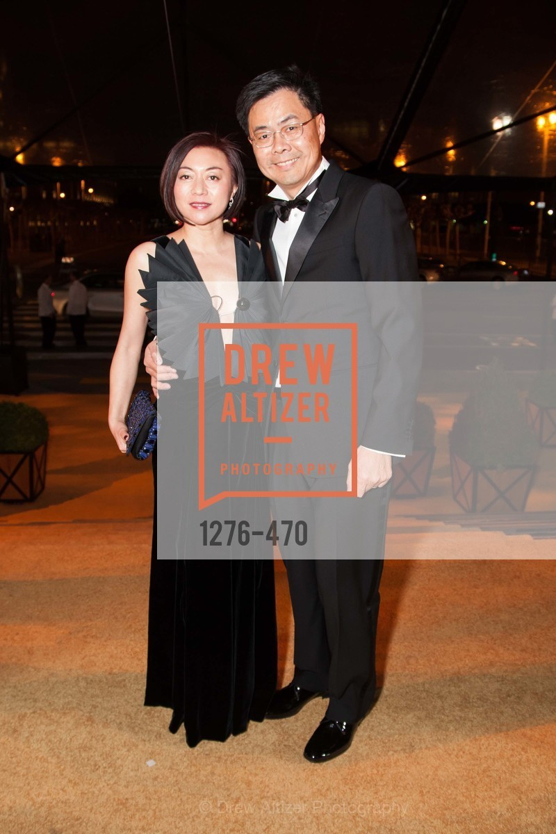 Lina Liou, Peter Liou, SAN FRANCISCO BALLET Opening Night Gala: PHENOMENAL - Arrivals, US. SF City Hall, January 22nd, 2014