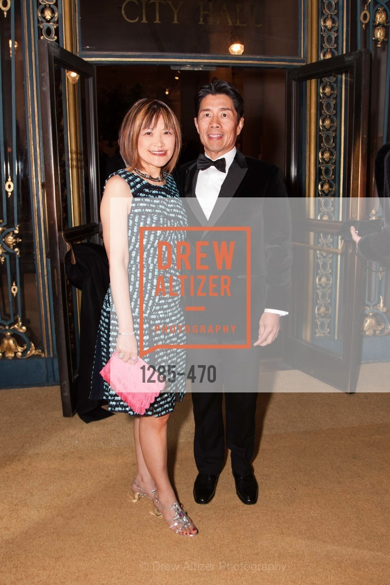 Lilian Tan, Paul Tan, SAN FRANCISCO BALLET Opening Night Gala: PHENOMENAL - Arrivals, US. SF City Hall, January 22nd, 2014,Drew Altizer, Drew Altizer Photography, full-service agency, private events, San Francisco photographer, photographer california