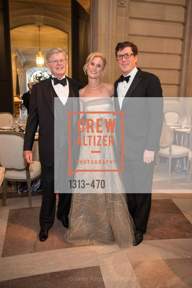 Richard Barker, Alison Mauze, Michael Mauze, SAN FRANCISCO BALLET Opening Night Gala: PHENOMENAL - Arrivals, US. SF City Hall, January 22nd, 2014,Drew Altizer, Drew Altizer Photography, full-service agency, private events, San Francisco photographer, photographer california
