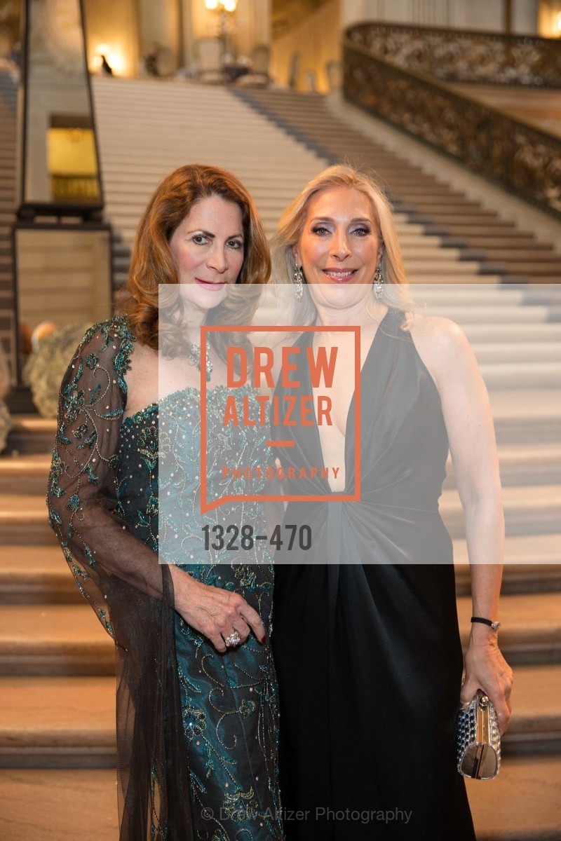 Patricia Ferrin Loucks, Betsy Linder, SAN FRANCISCO BALLET Opening Night Gala: PHENOMENAL - Arrivals, US. SF City Hall, January 22nd, 2014,Drew Altizer, Drew Altizer Photography, full-service agency, private events, San Francisco photographer, photographer california