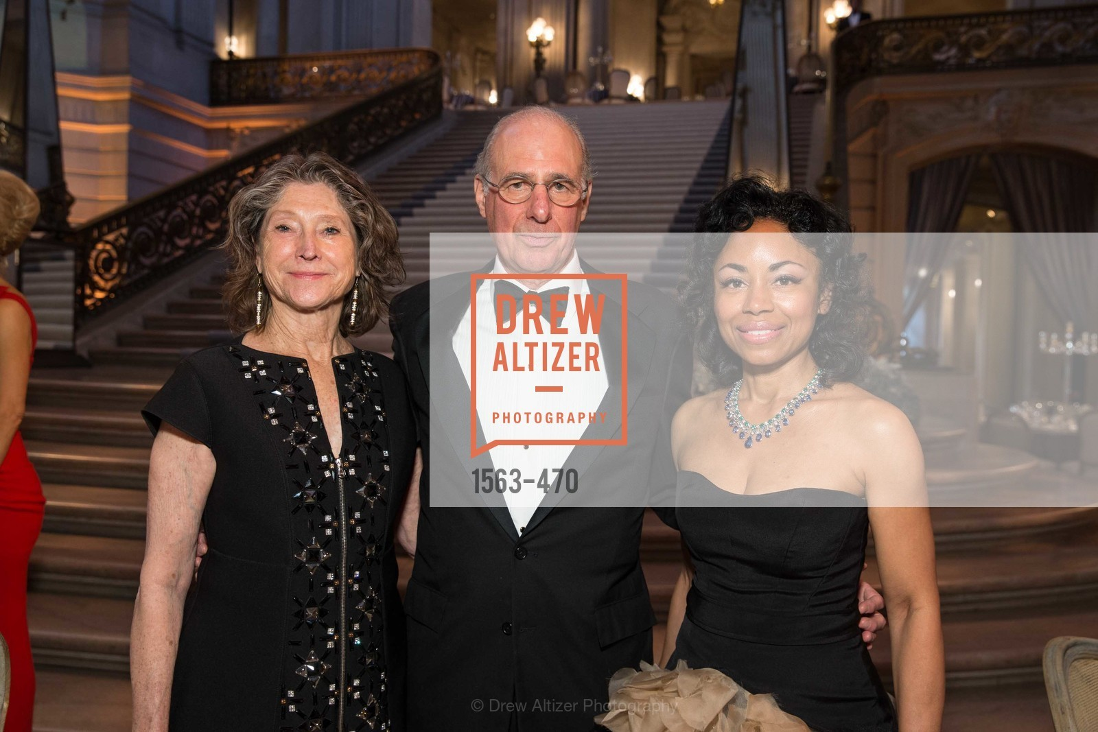 Barbara Osterweiss, John Osterwiess, Tanya Powell, SAN FRANCISCO BALLET Opening Night Gala: PHENOMENAL - Arrivals, US. SF City Hall, January 22nd, 2014,Drew Altizer, Drew Altizer Photography, full-service agency, private events, San Francisco photographer, photographer california