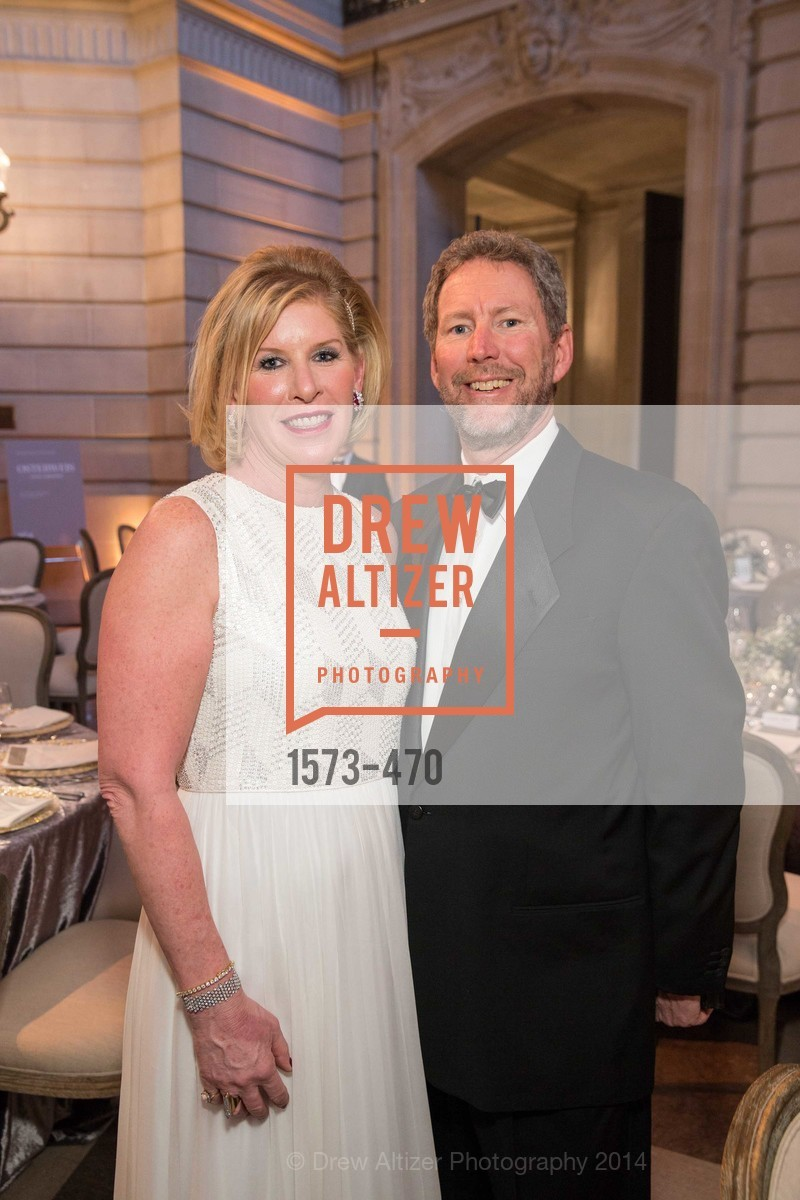 Jennifer Brandenburg, Bill Brandenburg, SAN FRANCISCO BALLET Opening Night Gala: PHENOMENAL - Arrivals, US. SF City Hall, January 22nd, 2014,Drew Altizer, Drew Altizer Photography, full-service agency, private events, San Francisco photographer, photographer california