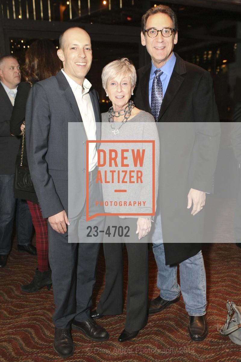 Jon Steinberg, Nancy Livingston, Fred Levin, Photo #23-4702