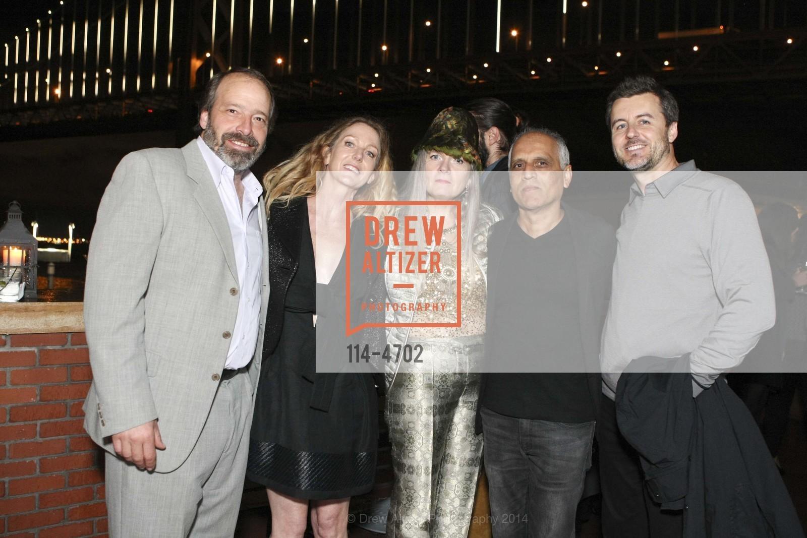 Evan Shivley, Linda Morgan, Madeleine Fitzpatrick, Zahid Sardar, Gregory Herman, Photo #114-4702