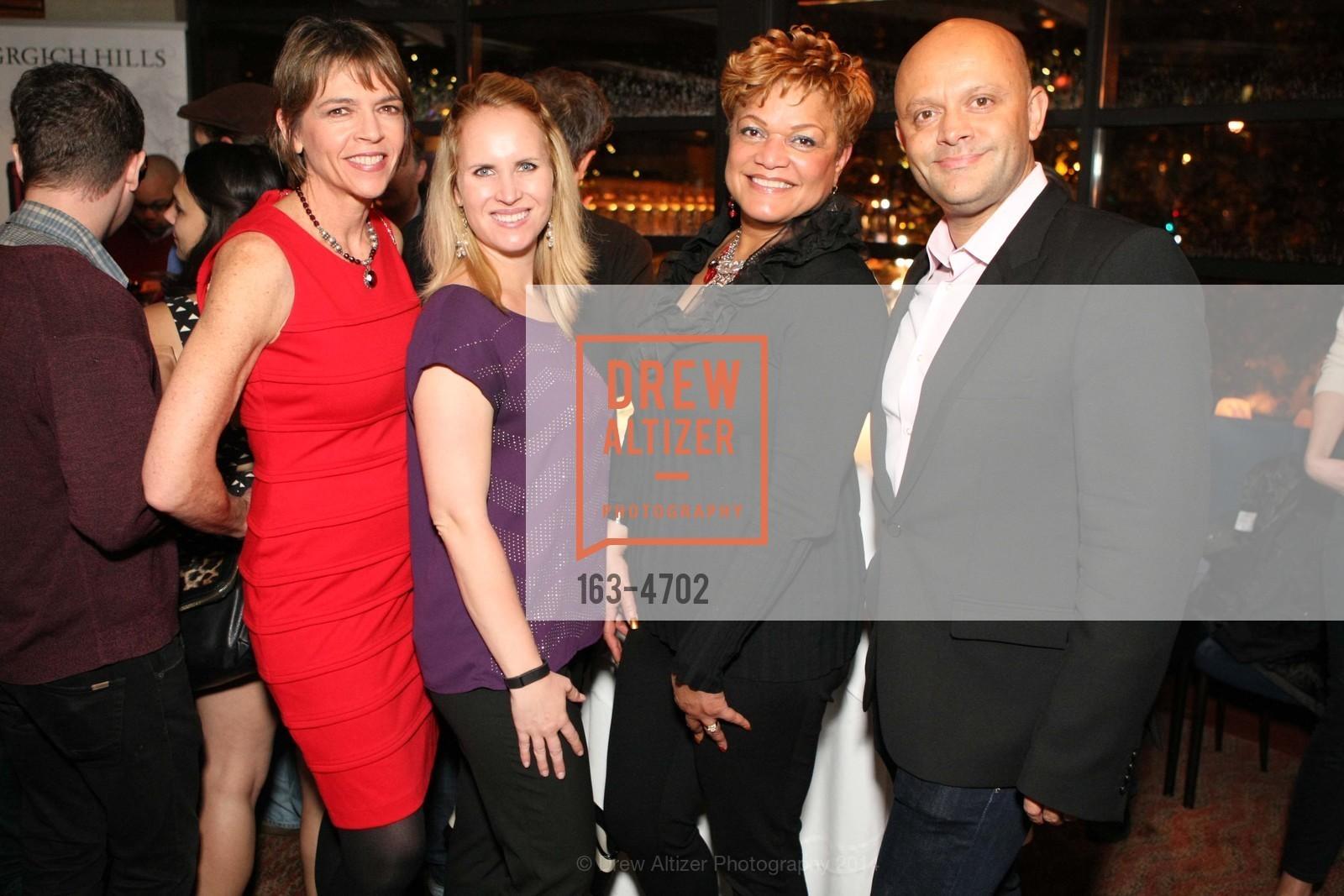 Beth Schnitzer, Rebecca Moore, LaTonya Lawson, Christophe Ley, Photo #163-4702