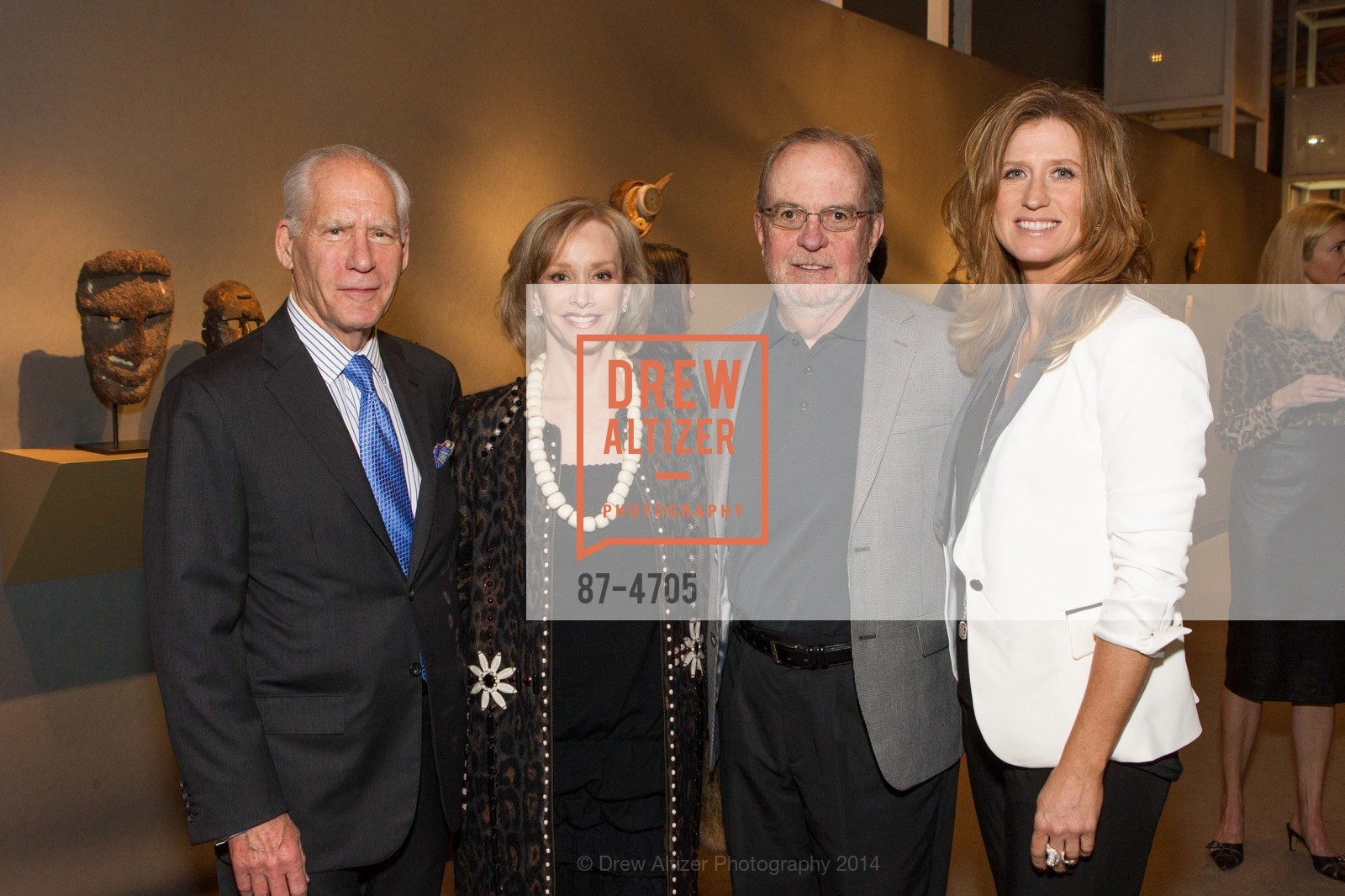 Gary Shansby, OJ Shansby, Bob Wall, Margaret Rinkevich, Photo #87-4705
