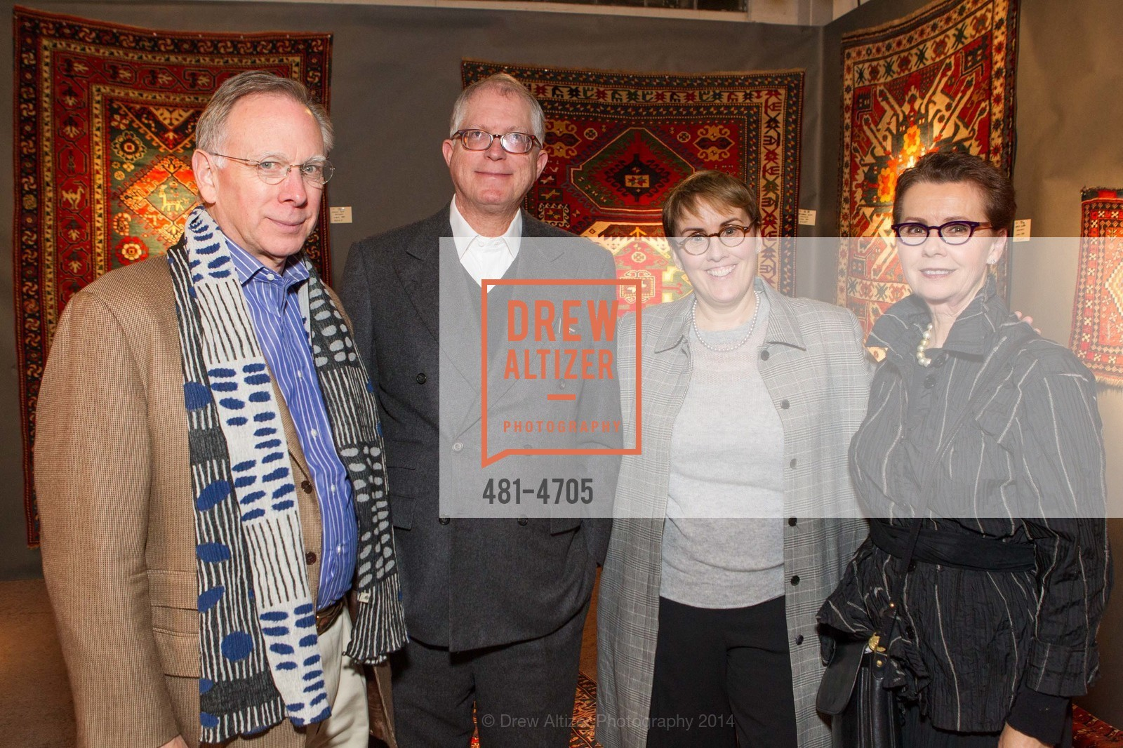 Fred Taylor, George Hecksher, Marie Hecksher, Kathleen Taylor, Photo #481-4705