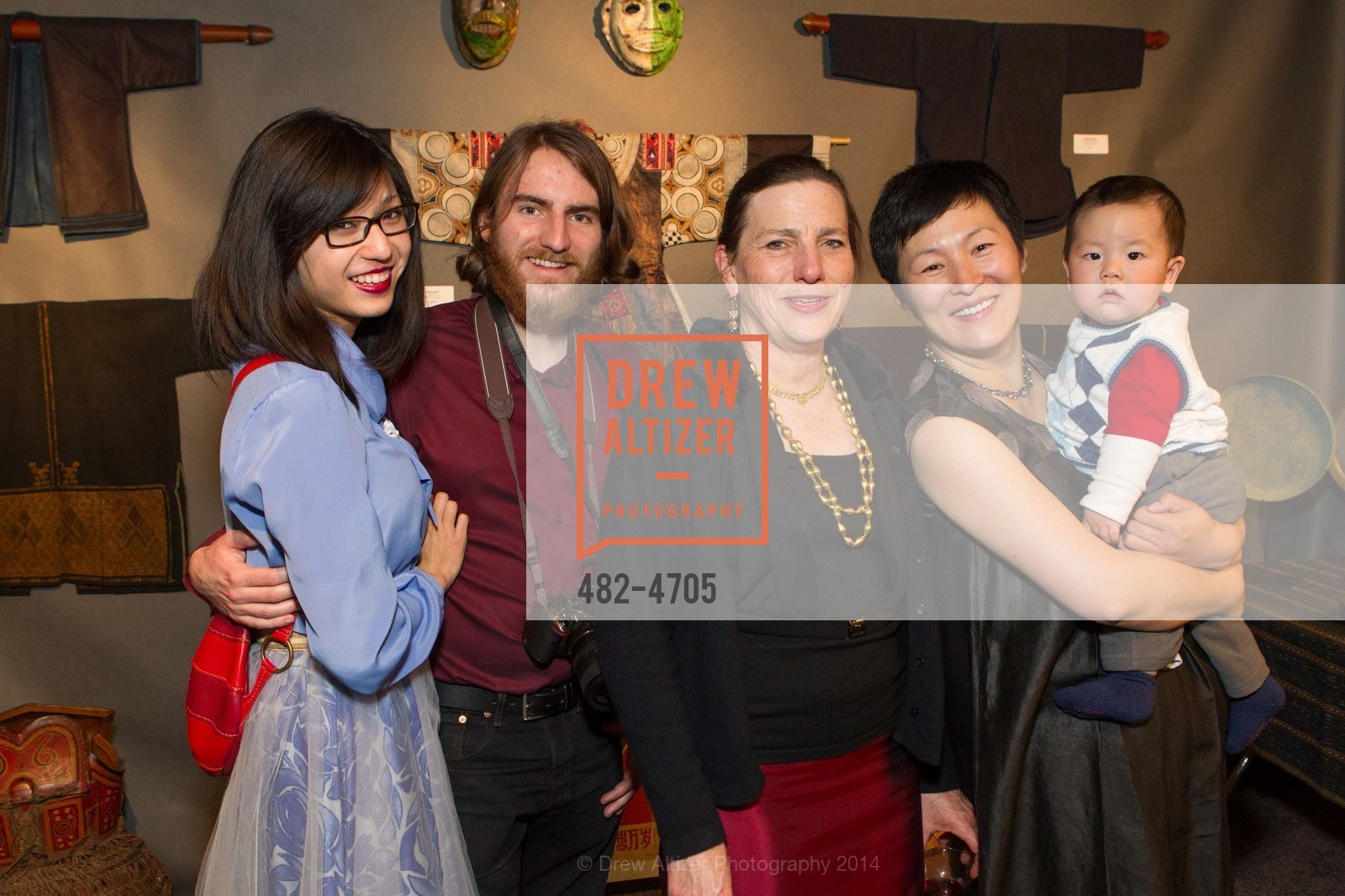 Lihe Han, Derek DeRoche, Nancy DeRoche, Wenhua Liu, Photo #482-4705