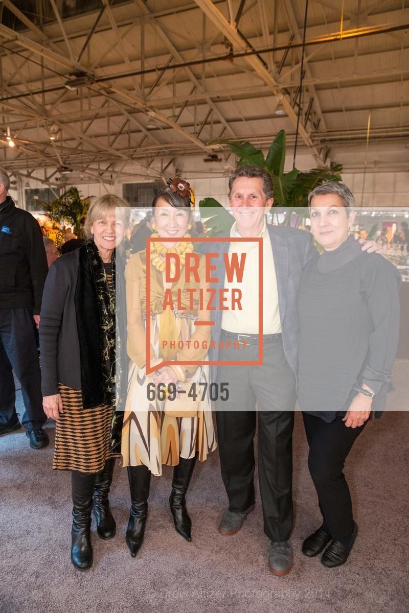 Nancy Thomas, Lin Chen-Willis, Ed Hardy, Francesca Passalacqua, Photo #669-4705