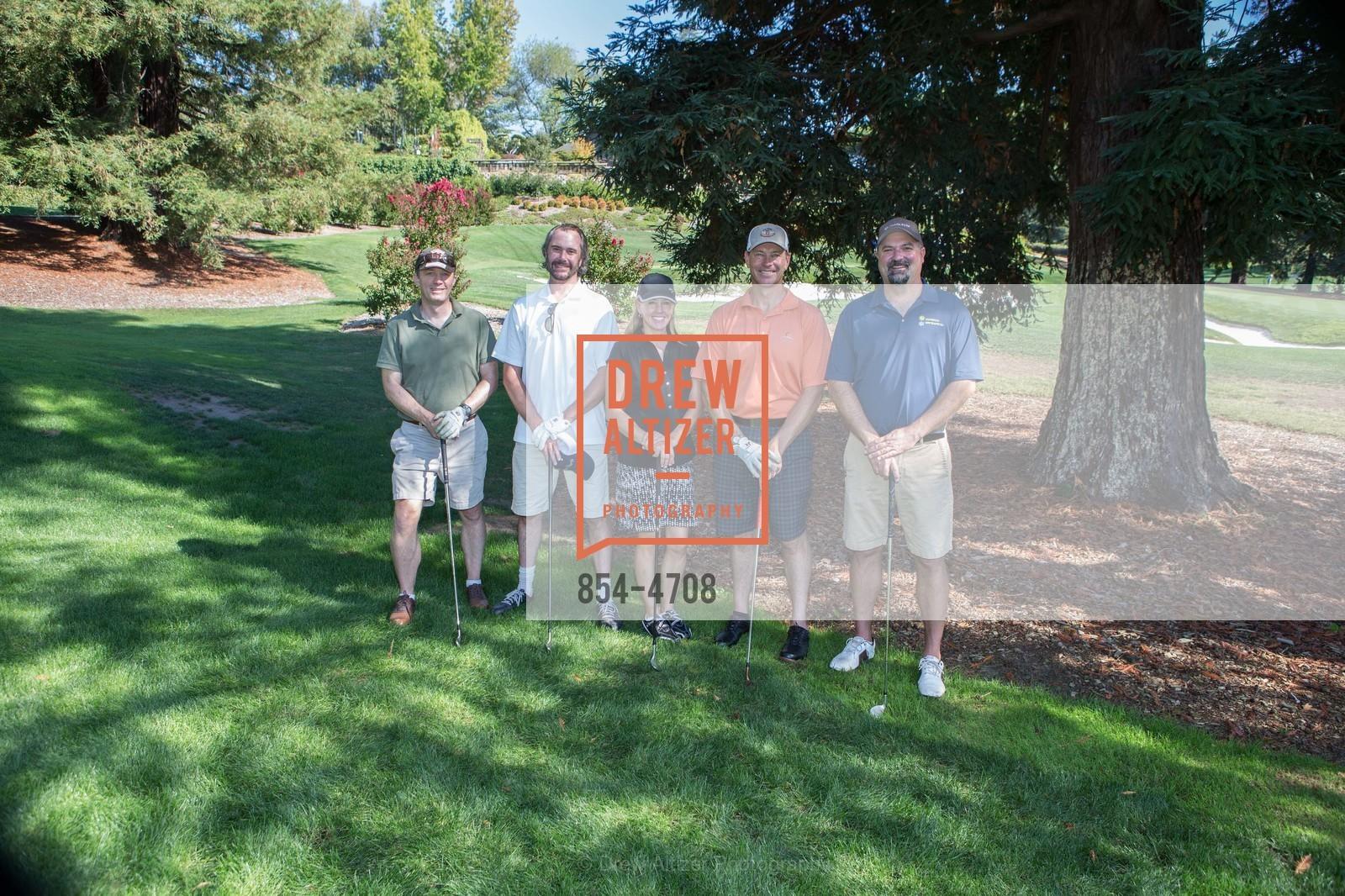 Brad Ekstrand, Richard Harrison, Tina Michelson, Jim Keenan, Rob Moyer, Photo #854-4708