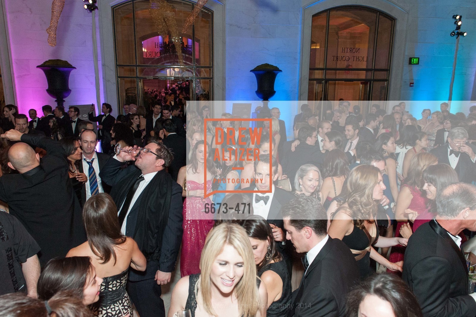 Atmosphere, SAN FRANCISCO BALLET Opening Night Gala: PHENOMENAL - After Party, US. War memorial opera house, January 22nd, 2014,Drew Altizer, Drew Altizer Photography, full-service agency, private events, San Francisco photographer, photographer california