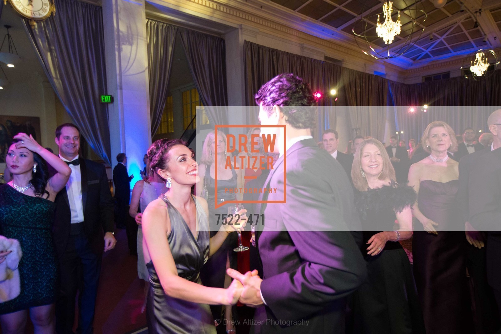 Dance Floor, SAN FRANCISCO BALLET Opening Night Gala: PHENOMENAL - After Party, US. War memorial opera house, January 22nd, 2014,Drew Altizer, Drew Altizer Photography, full-service agency, private events, San Francisco photographer, photographer california