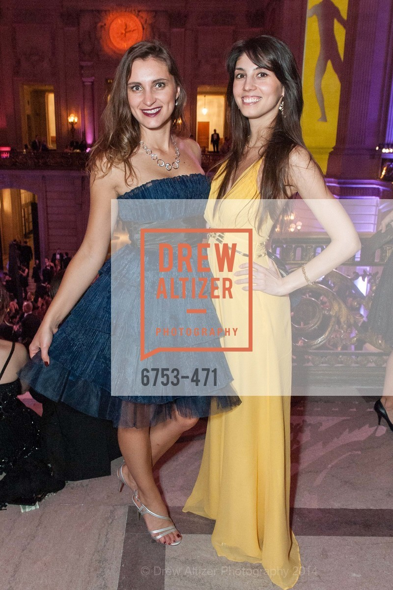Anastasia Aganchemko, Elena Ni, SAN FRANCISCO BALLET Opening Night Gala: PHENOMENAL - After Party, US. War memorial opera house, January 22nd, 2014,Drew Altizer, Drew Altizer Photography, full-service event agency, private events, San Francisco photographer, photographer California