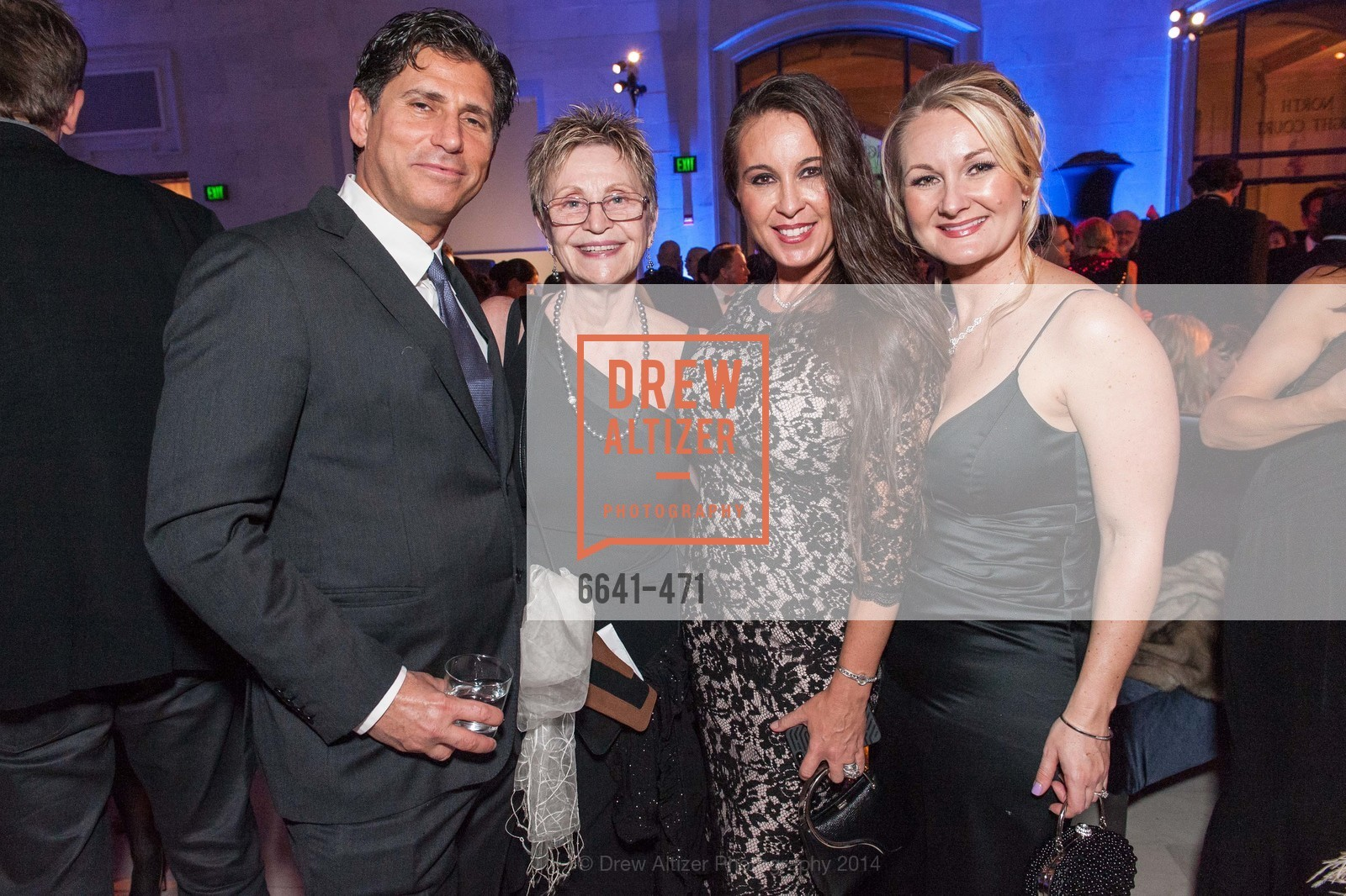Robert Pakter, Carmen Biondi, Carla Biondi, Sherie Dietro, SAN FRANCISCO BALLET Opening Night Gala: PHENOMENAL - After Party, US. War memorial opera house, January 22nd, 2014,Drew Altizer, Drew Altizer Photography, full-service event agency, private events, San Francisco photographer, photographer California