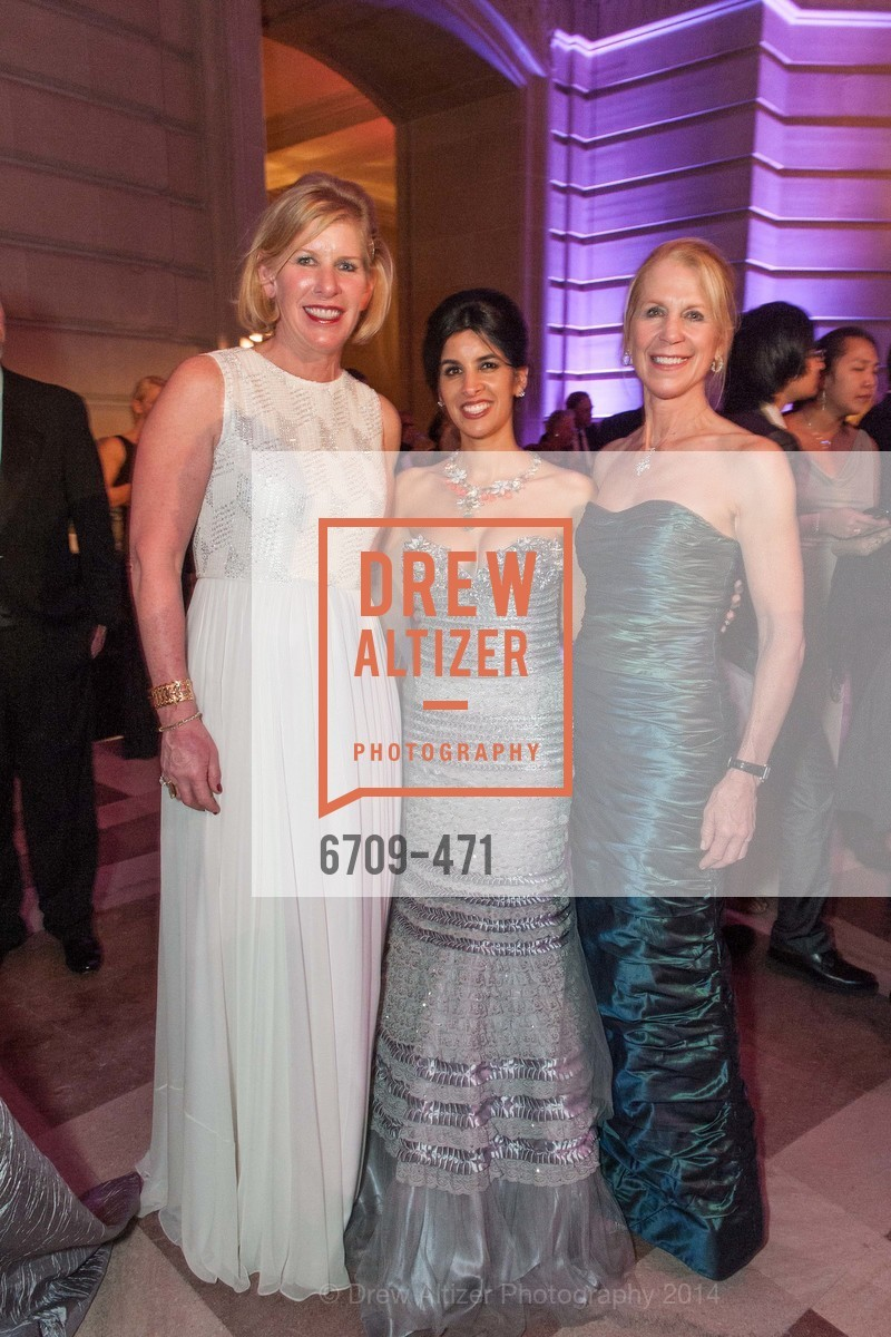Jennifer Brandenburg, Veronica Rivas Tramontozzi, Kimberly Hopper, SAN FRANCISCO BALLET Opening Night Gala: PHENOMENAL - After Party, US. War memorial opera house, January 22nd, 2014,Drew Altizer, Drew Altizer Photography, full-service agency, private events, San Francisco photographer, photographer california