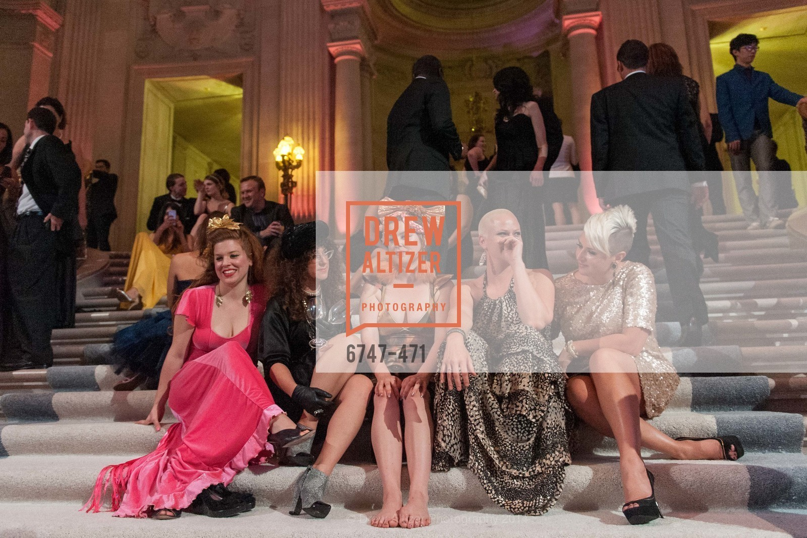 Elizabeth Castaneda, Haiey Gardner, Melissa Castaneda, Shannon Perkins, Daria Rose, SAN FRANCISCO BALLET Opening Night Gala: PHENOMENAL - After Party, US. War memorial opera house, January 22nd, 2014,Drew Altizer, Drew Altizer Photography, full-service agency, private events, San Francisco photographer, photographer california