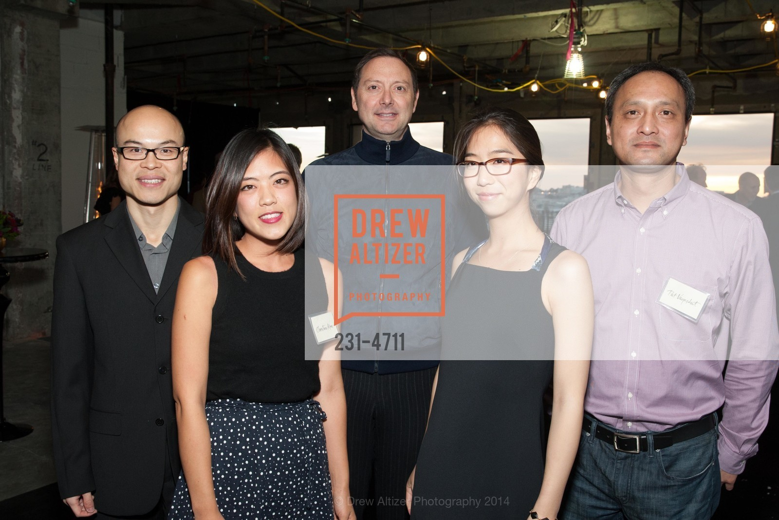 Derick Chan, Christine Kim, Richard Haman, Pat Vayaphat, Photo #231-4711