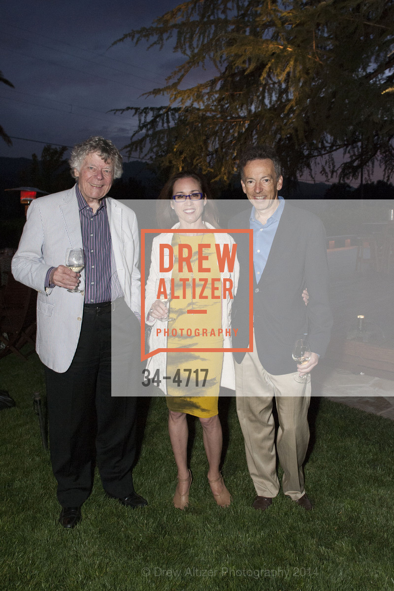 Gordon Getty, Violet Grgich, Rick Walker, Photo #34-4717