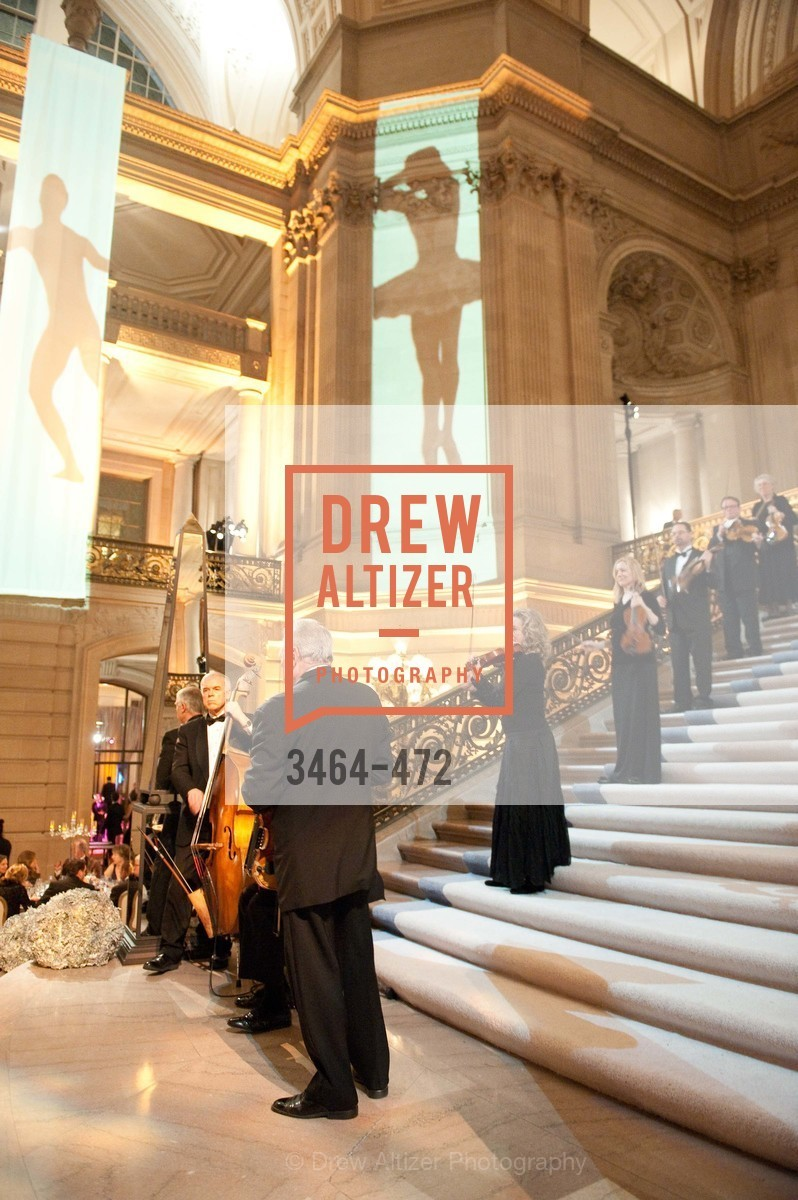 Atmosphere, SAN FRANCISCO BALLET Opening Night Gala: PHENOMENAL - Intermission & Dinner, US. SF City Hall, January 22nd, 2014,Drew Altizer, Drew Altizer Photography, full-service agency, private events, San Francisco photographer, photographer california