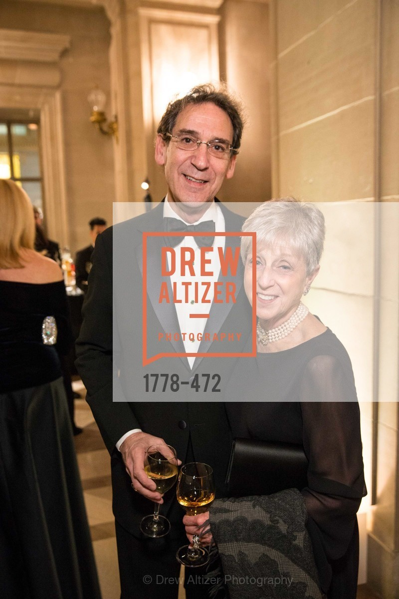 Fred Levin, Nancy Livingston, SAN FRANCISCO BALLET Opening Night Gala: PHENOMENAL - Intermission & Dinner, US. SF City Hall, January 22nd, 2014,Drew Altizer, Drew Altizer Photography, full-service agency, private events, San Francisco photographer, photographer california