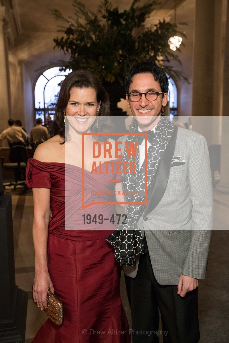 Kendall Wilkinson, James Krohn, SAN FRANCISCO BALLET Opening Night Gala: PHENOMENAL - Intermission & Dinner, US. SF City Hall, January 22nd, 2014,Drew Altizer, Drew Altizer Photography, full-service agency, private events, San Francisco photographer, photographer california