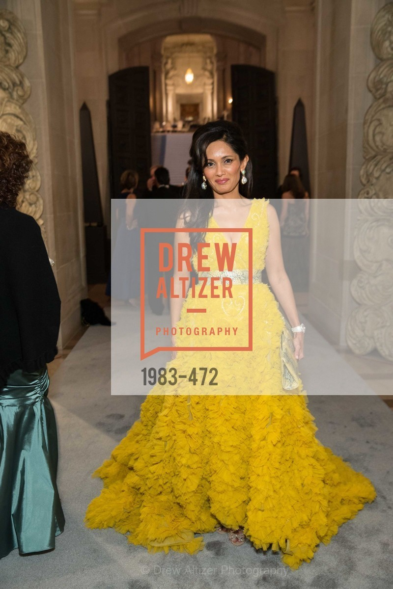 Komal Shah, SAN FRANCISCO BALLET Opening Night Gala: PHENOMENAL - Intermission & Dinner, US. SF City Hall, January 22nd, 2014,Drew Altizer, Drew Altizer Photography, full-service agency, private events, San Francisco photographer, photographer california