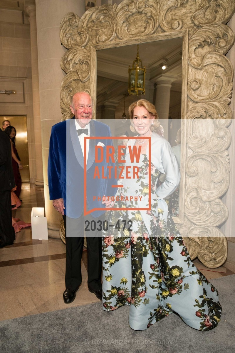 George Shultz, Charlotte Shultz, SAN FRANCISCO BALLET Opening Night Gala: PHENOMENAL - Intermission & Dinner, US. SF City Hall, January 22nd, 2014,Drew Altizer, Drew Altizer Photography, full-service event agency, private events, San Francisco photographer, photographer California