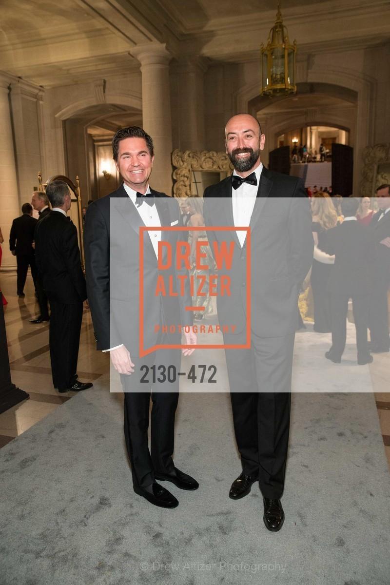 Alex Chases, Rolando Beramendi, SAN FRANCISCO BALLET Opening Night Gala: PHENOMENAL - Intermission & Dinner, US. SF City Hall, January 22nd, 2014