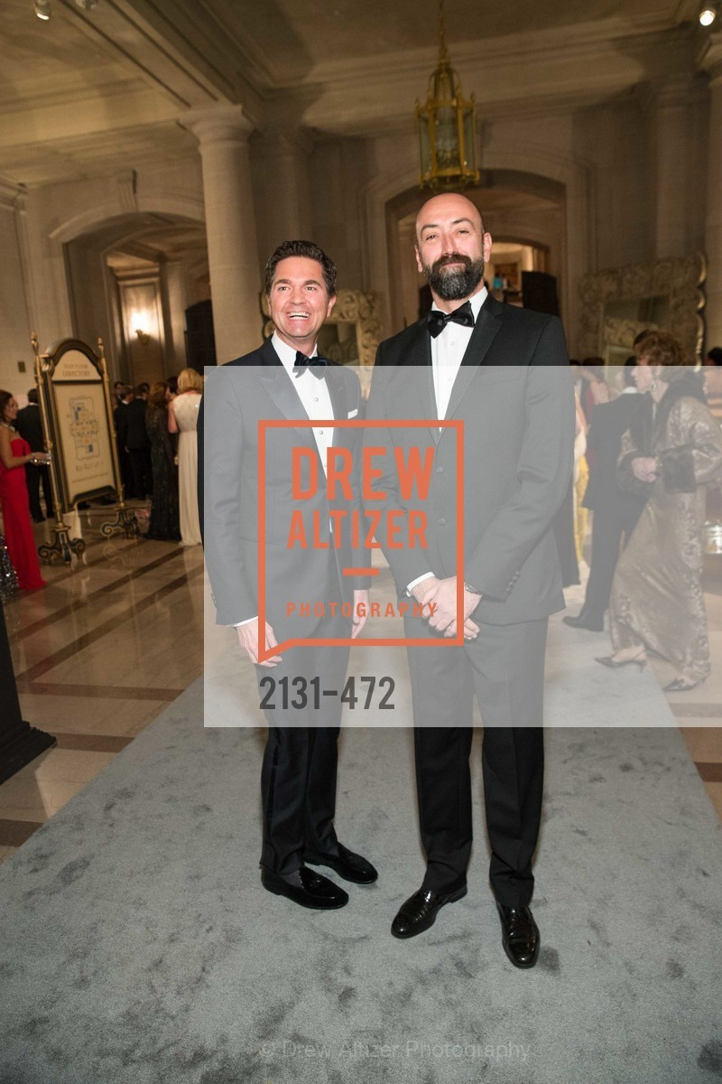 Alex Chases, Rolando Beramendi, SAN FRANCISCO BALLET Opening Night Gala: PHENOMENAL - Intermission & Dinner, US. SF City Hall, January 22nd, 2014,Drew Altizer, Drew Altizer Photography, full-service event agency, private events, San Francisco photographer, photographer California