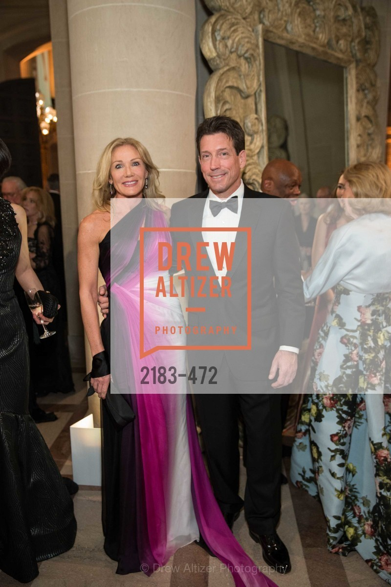 Rosemary Baker, Bill Yelle, SAN FRANCISCO BALLET Opening Night Gala: PHENOMENAL - Intermission & Dinner, US. SF City Hall, January 22nd, 2014,Drew Altizer, Drew Altizer Photography, full-service agency, private events, San Francisco photographer, photographer california