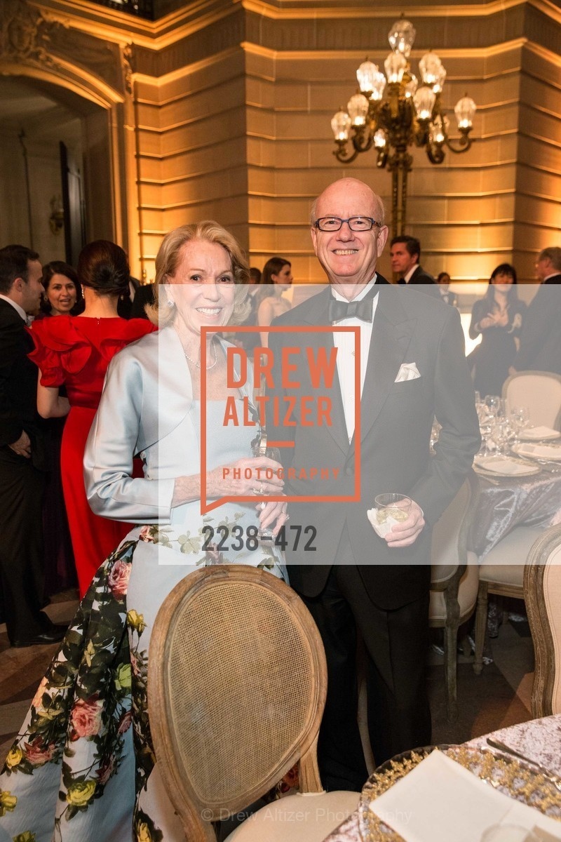 Charlotte Shulta, Tom Horn, SAN FRANCISCO BALLET Opening Night Gala: PHENOMENAL - Intermission & Dinner, US. SF City Hall, January 22nd, 2014,Drew Altizer, Drew Altizer Photography, full-service agency, private events, San Francisco photographer, photographer california
