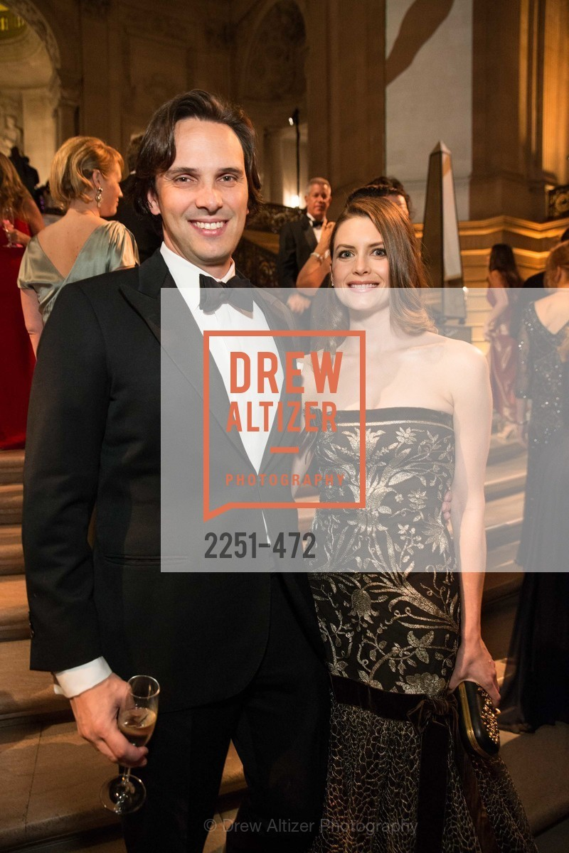 Will Harbin, Stephanie Southerland, SAN FRANCISCO BALLET Opening Night Gala: PHENOMENAL - Intermission & Dinner, US. SF City Hall, January 22nd, 2014,Drew Altizer, Drew Altizer Photography, full-service agency, private events, San Francisco photographer, photographer california