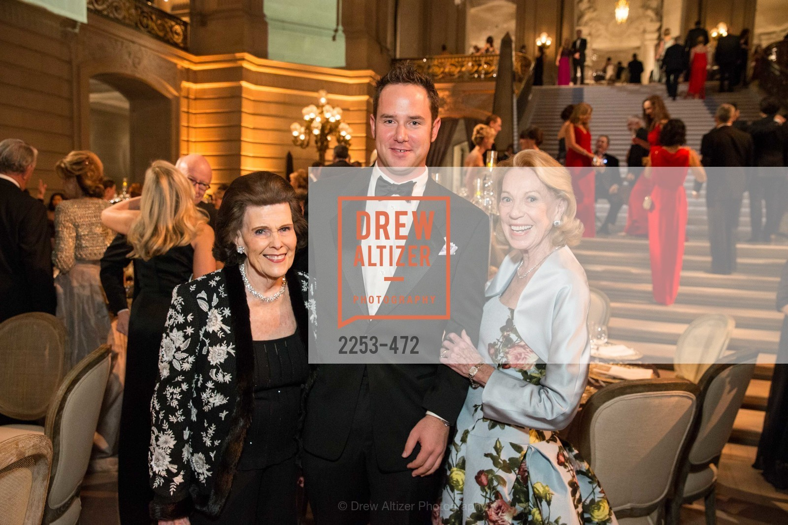 Lucy Jewett, Drew Weyerhaeuser, Charlotte Shultz, SAN FRANCISCO BALLET Opening Night Gala: PHENOMENAL - Intermission & Dinner, US. SF City Hall, January 22nd, 2014,Drew Altizer, Drew Altizer Photography, full-service event agency, private events, San Francisco photographer, photographer California