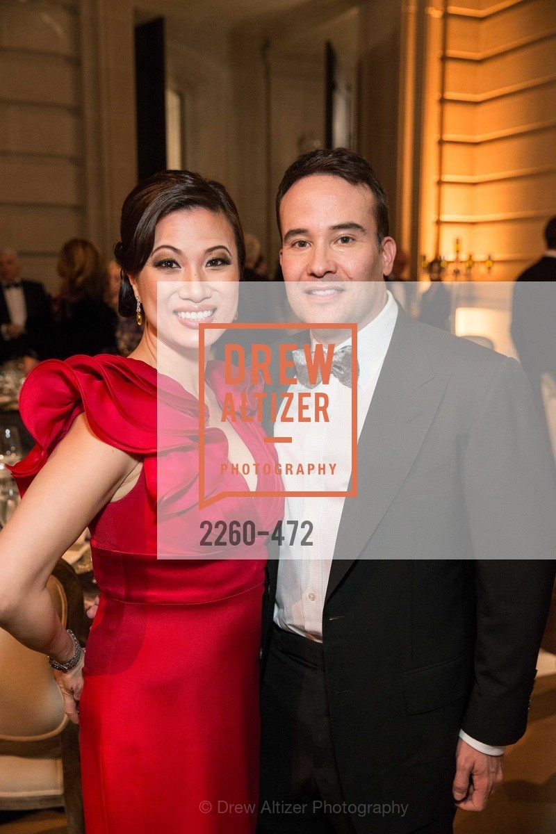 Rocelyn Chen, Tom Chavez, SAN FRANCISCO BALLET Opening Night Gala: PHENOMENAL - Intermission & Dinner, US. SF City Hall, January 22nd, 2014,Drew Altizer, Drew Altizer Photography, full-service agency, private events, San Francisco photographer, photographer california