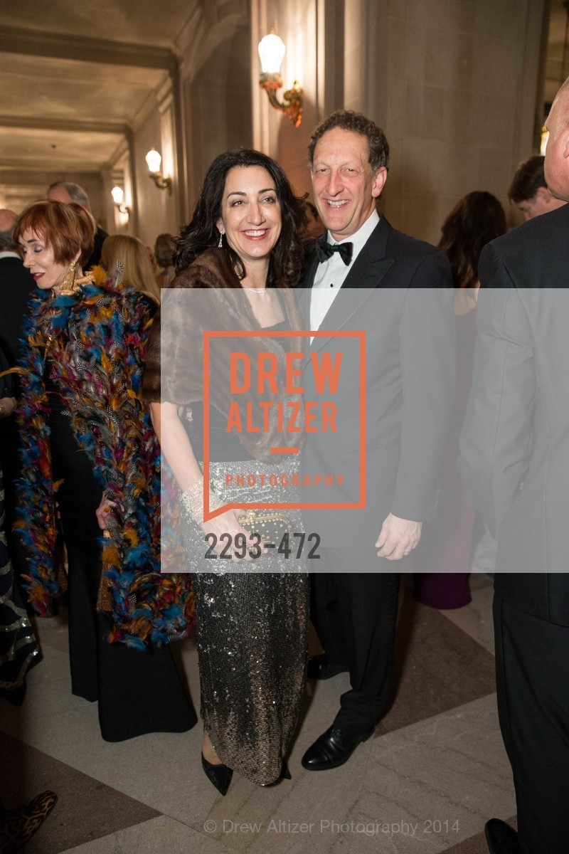 Pam Baer, Larry Baer, SAN FRANCISCO BALLET Opening Night Gala: PHENOMENAL - Intermission & Dinner, US. SF City Hall, January 22nd, 2014,Drew Altizer, Drew Altizer Photography, full-service agency, private events, San Francisco photographer, photographer california