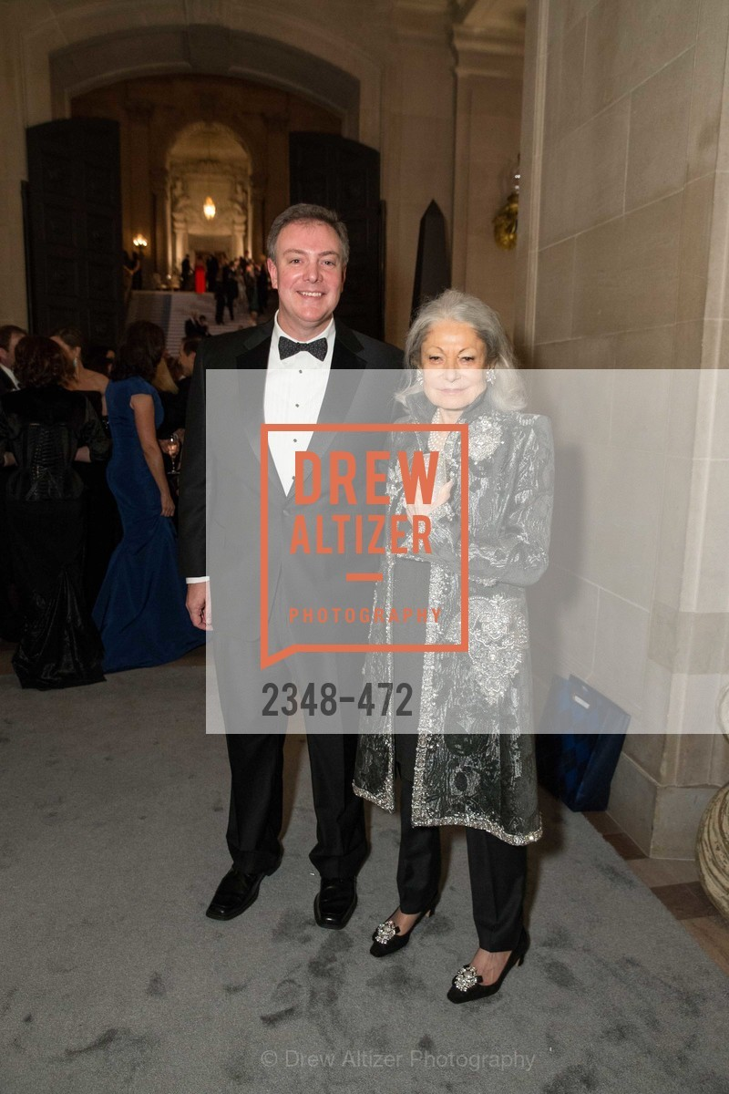 Kevin O'Shea, Denise Hale, SAN FRANCISCO BALLET Opening Night Gala: PHENOMENAL - Intermission & Dinner, US. SF City Hall, January 22nd, 2014,Drew Altizer, Drew Altizer Photography, full-service agency, private events, San Francisco photographer, photographer california