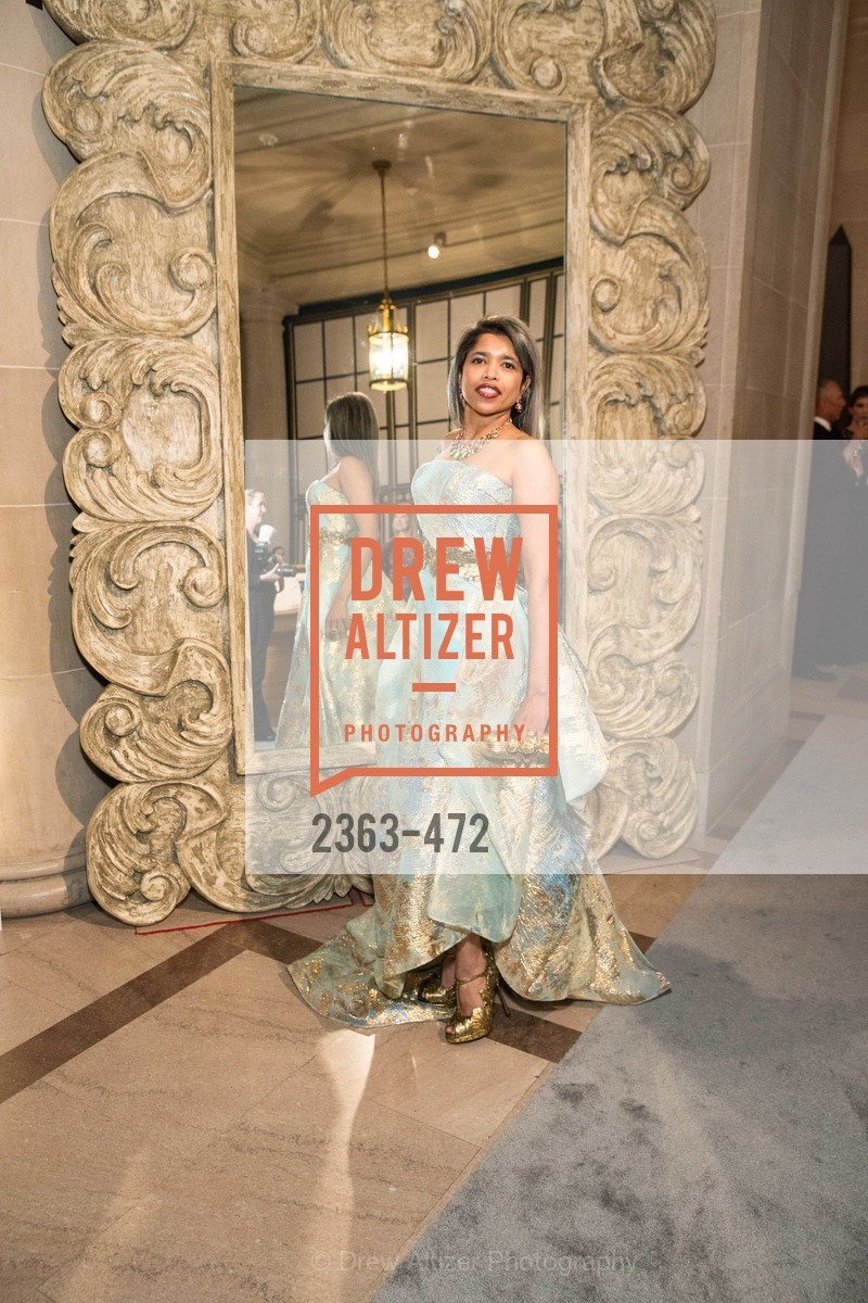 Deepa Pakianathan, SAN FRANCISCO BALLET Opening Night Gala: PHENOMENAL - Intermission & Dinner, US. SF City Hall, January 22nd, 2014,Drew Altizer, Drew Altizer Photography, full-service agency, private events, San Francisco photographer, photographer california
