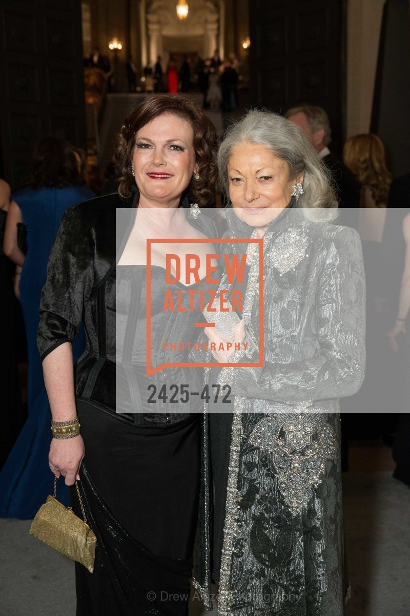 Jennifer Raiser, Denise Hale, SAN FRANCISCO BALLET Opening Night Gala: PHENOMENAL - Intermission & Dinner, US. SF City Hall, January 22nd, 2014,Drew Altizer, Drew Altizer Photography, full-service agency, private events, San Francisco photographer, photographer california