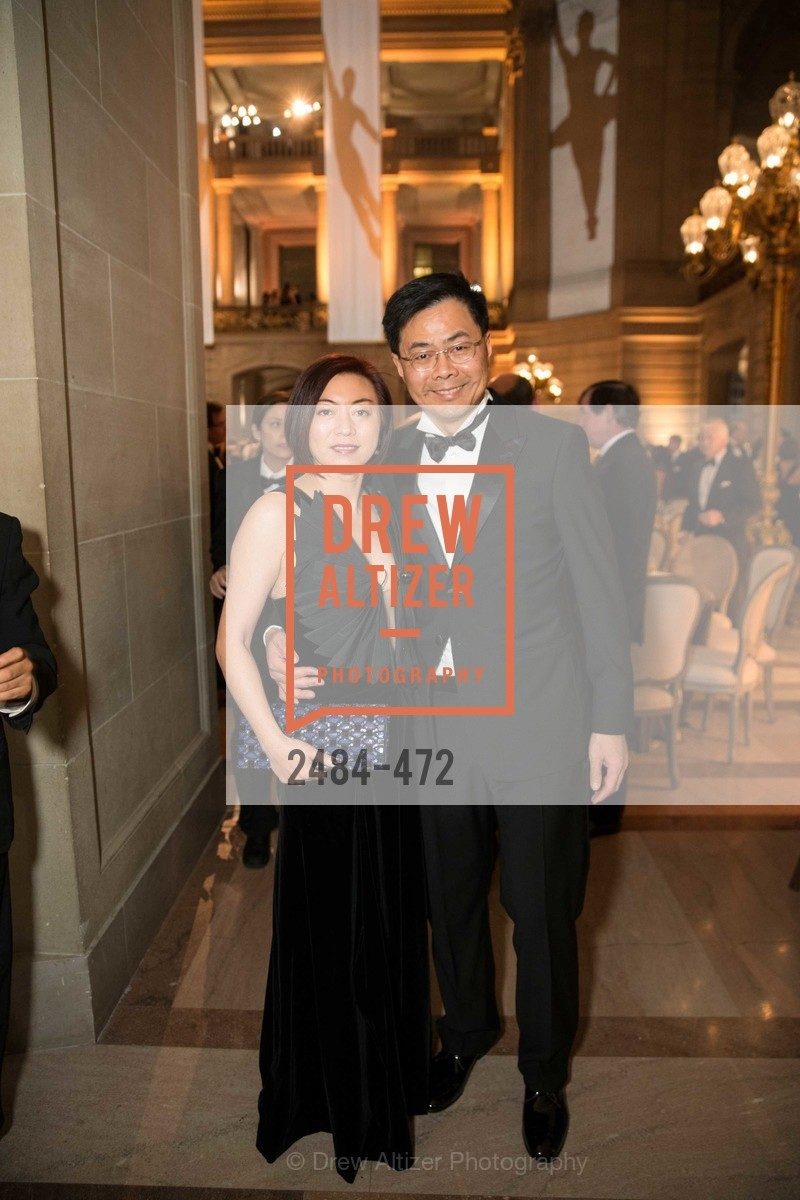 Lina Liou, Peter Liou, SAN FRANCISCO BALLET Opening Night Gala: PHENOMENAL - Intermission & Dinner, US. SF City Hall, January 22nd, 2014,Drew Altizer, Drew Altizer Photography, full-service agency, private events, San Francisco photographer, photographer california