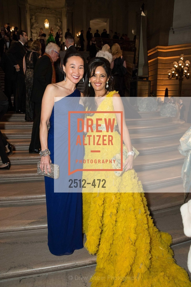 Carolyn Chang, Komal Shah, SAN FRANCISCO BALLET Opening Night Gala: PHENOMENAL - Intermission & Dinner, US. SF City Hall, January 22nd, 2014,Drew Altizer, Drew Altizer Photography, full-service event agency, private events, San Francisco photographer, photographer California