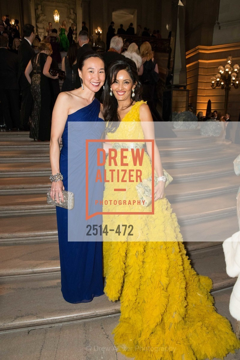 Carolyn Chang, Komal Shah, SAN FRANCISCO BALLET Opening Night Gala: PHENOMENAL - Intermission & Dinner, US. SF City Hall, January 22nd, 2014,Drew Altizer, Drew Altizer Photography, full-service agency, private events, San Francisco photographer, photographer california