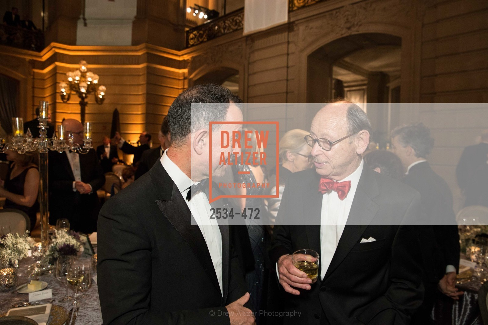 Colin Bailey, Bernard Osher, SAN FRANCISCO BALLET Opening Night Gala: PHENOMENAL - Intermission & Dinner, US. SF City Hall, January 22nd, 2014,Drew Altizer, Drew Altizer Photography, full-service event agency, private events, San Francisco photographer, photographer California