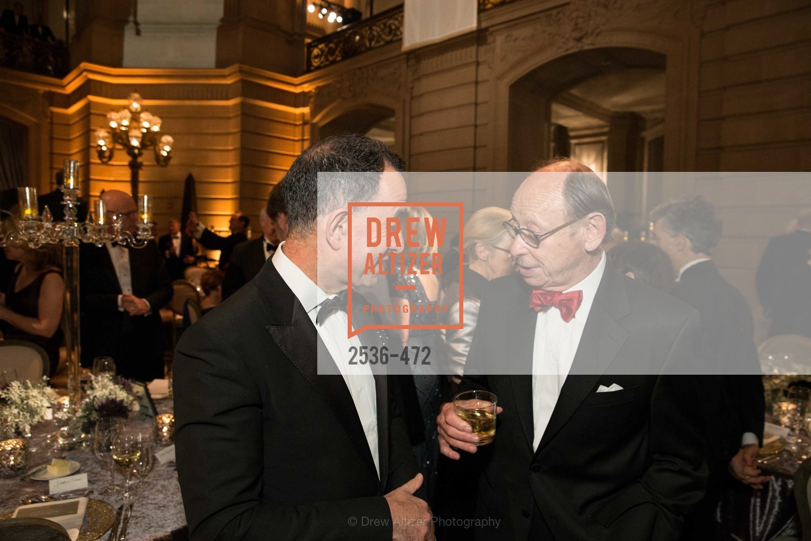Colin Bailey, Bernard Osher, SAN FRANCISCO BALLET Opening Night Gala: PHENOMENAL - Intermission & Dinner, US. SF City Hall, January 22nd, 2014