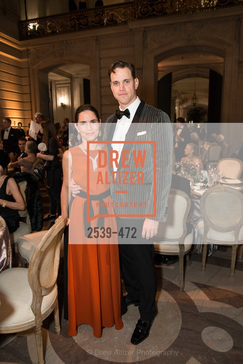 Nicola Miner, Robert Mailer Anderson, SAN FRANCISCO BALLET Opening Night Gala: PHENOMENAL - Intermission & Dinner, US. SF City Hall, January 22nd, 2014,Drew Altizer, Drew Altizer Photography, full-service agency, private events, San Francisco photographer, photographer california