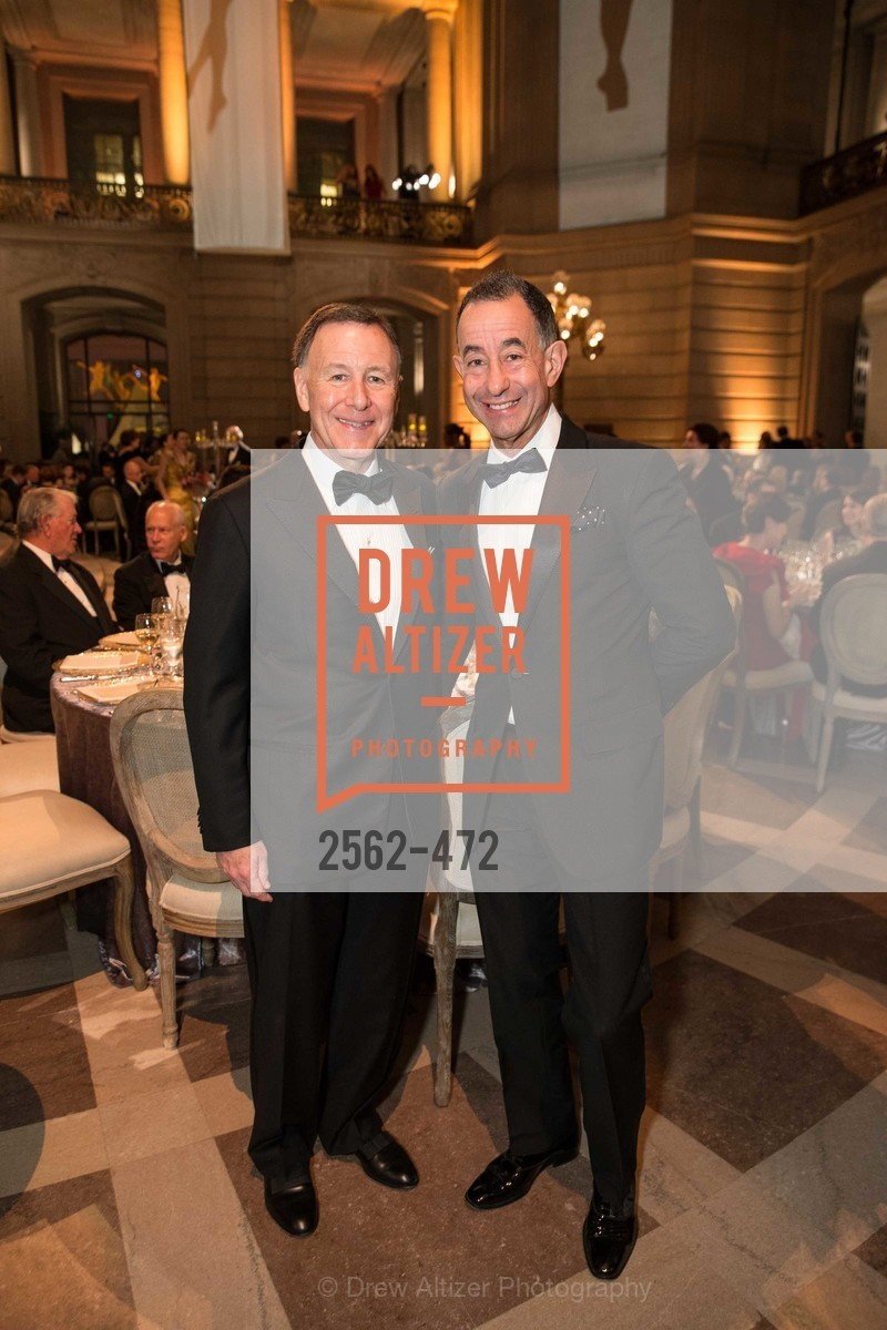 Carl Pascarella, Colin Bailey, SAN FRANCISCO BALLET Opening Night Gala: PHENOMENAL - Intermission & Dinner, US. SF City Hall, January 22nd, 2014,Drew Altizer, Drew Altizer Photography, full-service event agency, private events, San Francisco photographer, photographer California