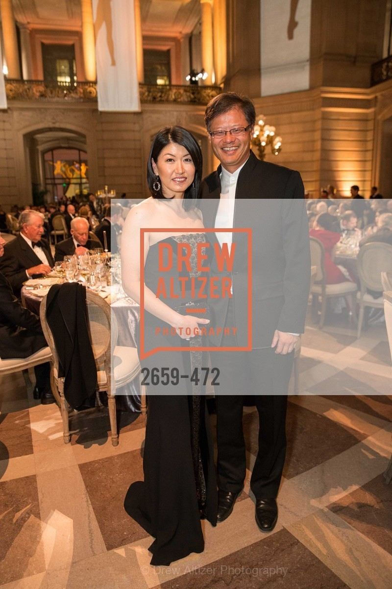 Akiko Yamazaki, Jerry Yang, SAN FRANCISCO BALLET Opening Night Gala: PHENOMENAL - Intermission & Dinner, US. SF City Hall, January 22nd, 2014,Drew Altizer, Drew Altizer Photography, full-service event agency, private events, San Francisco photographer, photographer California