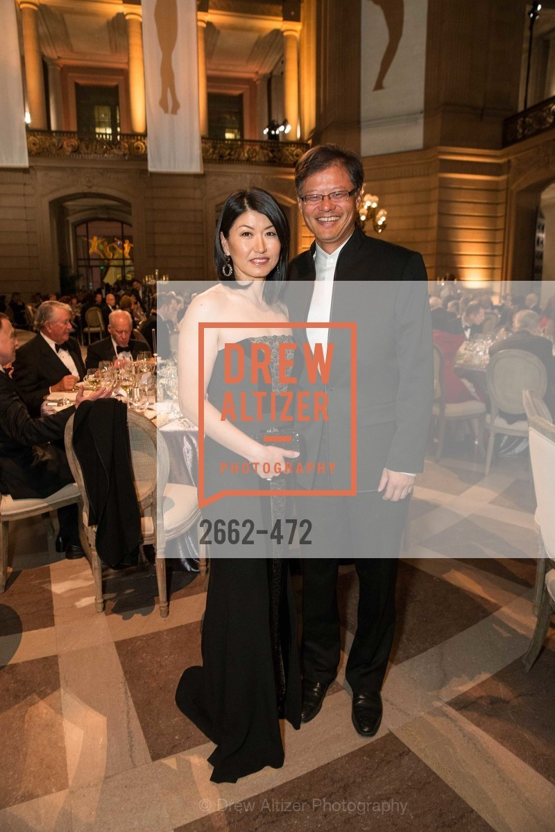 Akiko Yamazaki, Jerry Yang, SAN FRANCISCO BALLET Opening Night Gala: PHENOMENAL - Intermission & Dinner, US. SF City Hall, January 22nd, 2014,Drew Altizer, Drew Altizer Photography, full-service agency, private events, San Francisco photographer, photographer california
